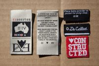 order label woven label baju murah